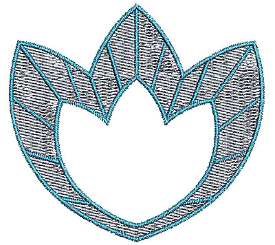 Embroidery Design: Summer floral 2 3.05w X 2.84h