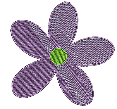 Embroidery Design: Summer flower 15 4.24w X 4.25h