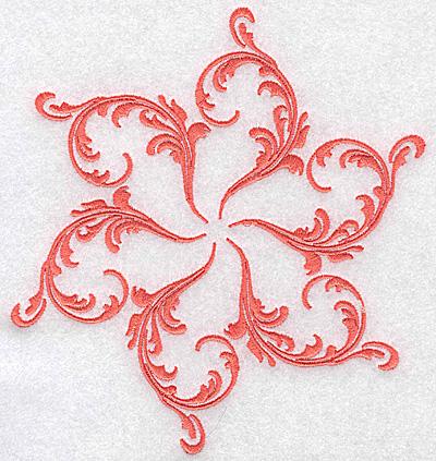 Embroidery Design: Swirl element 1D 6.52w X 6.02h