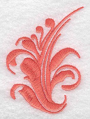 Embroidery Design: Swirl element 2A 2.13w X 2.84h