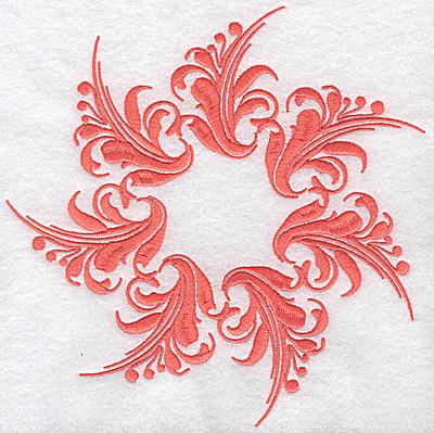 Embroidery Design: Swirl element 2B 7.67w X 7.74h