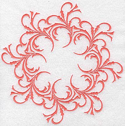 Embroidery Design: Swirl element 3B 7.80w X 7.80h