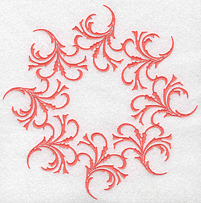 Embroidery Design: Swirl element 3C 7.73w X 7.73h