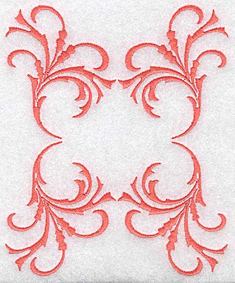 Embroidery Design: Swirl element 3E 4.85w X 5.87h