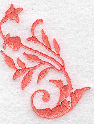 Embroidery Design: Swirl element 4A 2.34w X 2.99h