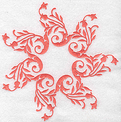 Embroidery Design: Swirl element 4B 7.54w X 7.69h