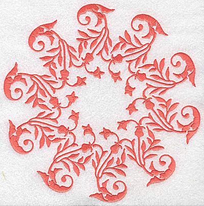 Embroidery Design: Swirl element 4C 7.56w X 7.79h