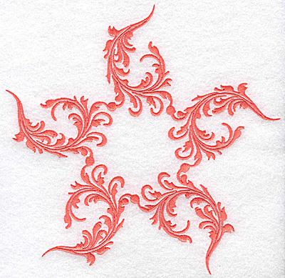Embroidery Design: Swirl element 5B 7.77w X 7.67h