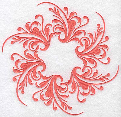 Embroidery Design: Swirl element 6C 7.73w X 7.45h