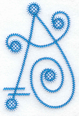 Embroidery Design: A large 2.51w X 3.78h