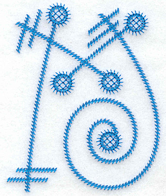 Embroidery Design: M large 3.05w X 3.79h