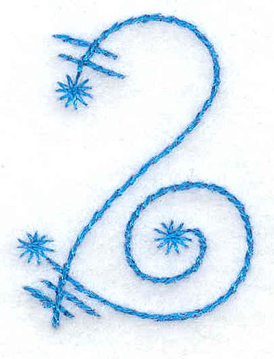 Embroidery Design: 2 small 1.17w X 1.55h