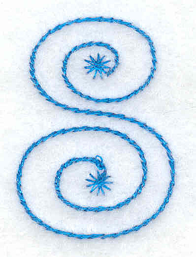Embroidery Design: 8 small 1.08w X 1.52h
