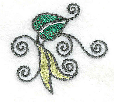 Embroidery Design: Leaves and vines F 2.04w X 1.93h
