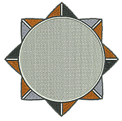 Embroidery Design: Southwest circle 3 6.01w X 6.02h