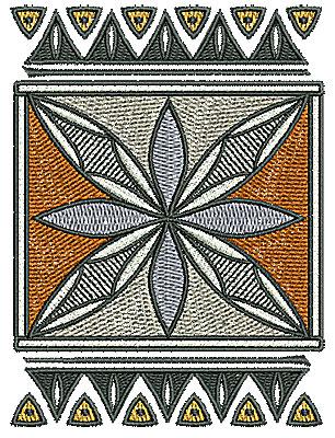 Embroidery Design: Southwest design 3.17w X 4.25h