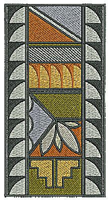 Embroidery Design: Southwest decorative design  2.37w X 4.54h