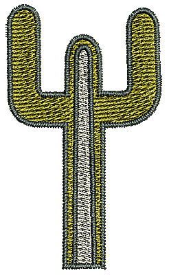 Embroidery Design: Southwestern cactus 1 1.39w X 2.37h