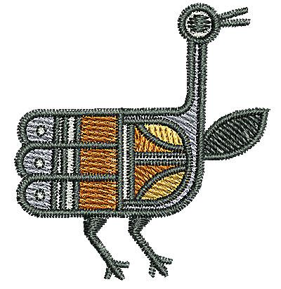 Embroidery Design: Southwest bird 2 1.69w X 1.83h