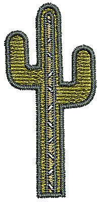 Embroidery Design: Southwestern cactus 2 0.99w X 2.11h