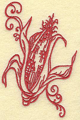 Embroidery Design: Ear of corn medium 3.29w X 4.99h