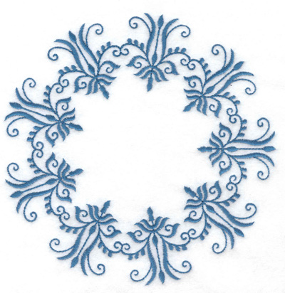 Embroidery Design: Design 8 large 5.95w X 6.00h