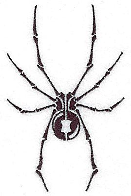 Embroidery Design: Tribal Motif Spider medium 3.12w X 4.94h