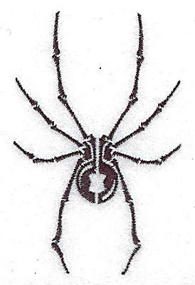 Embroidery Design: Tribal Motif Spider small 2.22w X 3.50h