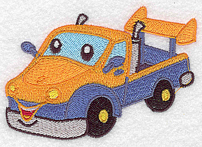 Embroidery Design: Pick-up truck small 3.89w X 2.69h
