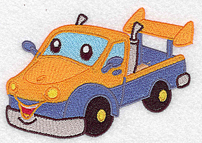 Embroidery Design: Pick-up truck large 4.98w X 3.45h
