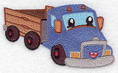 Embroidery Design: Truck small 3.89w X 2.24h