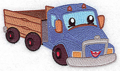 Embroidery Design: Truck large 4.97w X 2.86h