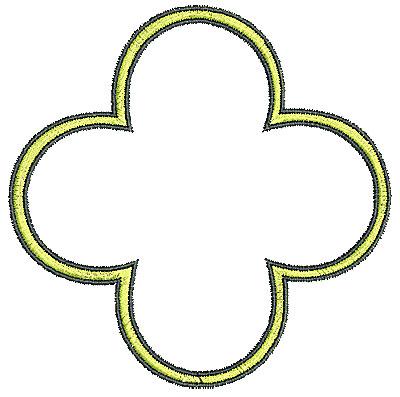 Embroidery Design: Tudor design 4 4.08w X 4.06h