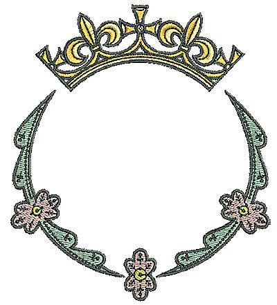 Embroidery Design: Tudor circle design 4.72w X 5.40h
