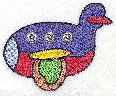 Embroidery Design: Plane small 3.55w X 2.91h