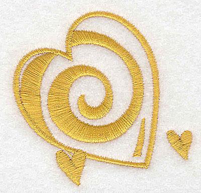 Embroidery Design: Heart trio 2.52w X 2.46h