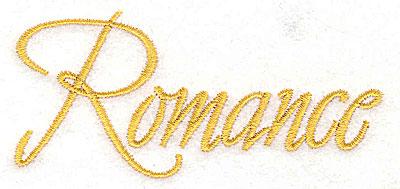 Embroidery Design: Romance 3.79w X 1.74h