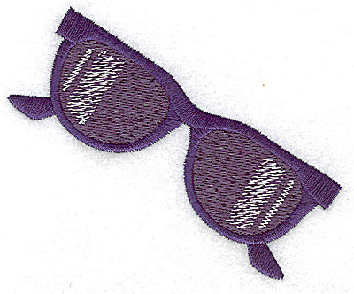 Embroidery Design: Sun Glasses  3.89w X 3.13h