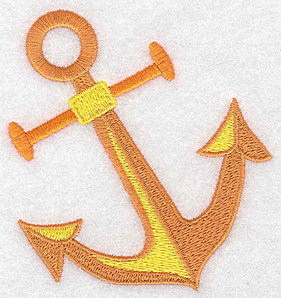 Embroidery Design: Anchor 3.40w X 3.59h