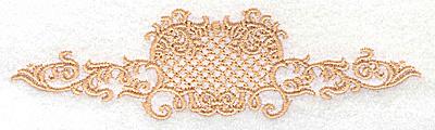 Embroidery Design: Victorian design 5.41w X 1.47h