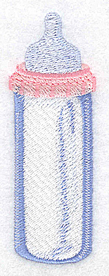 Embroidery Design: Baby bottle large 1.35w X 3.88h