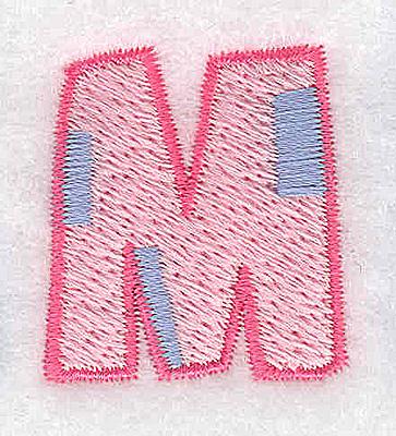 Embroidery Design: M small 1.14w X 1.26h