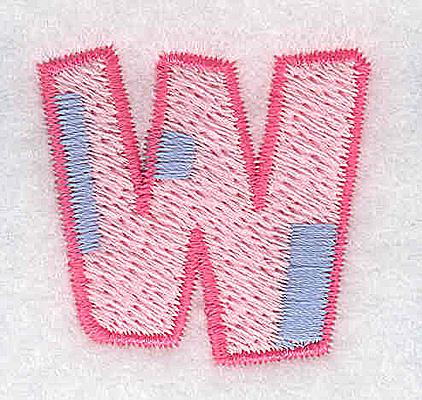 Embroidery Design: W small 1.30w X 1.26h