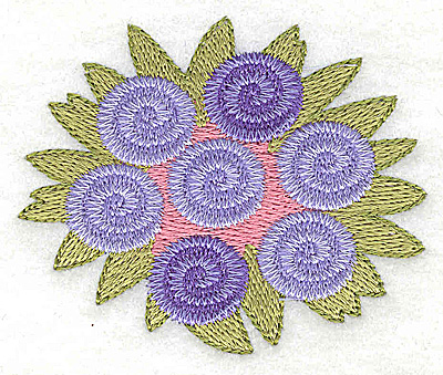 Embroidery Design: Wedding bouquet small 2.87w X 2.39h