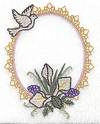 Embroidery Design: Our Wedding design small 2.96w X 3.86h