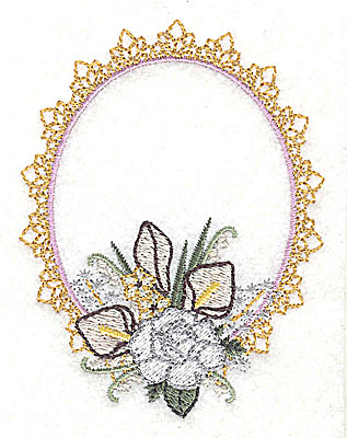 Embroidery Design: Live for Today Wedding design small 2.96w X 3.86h