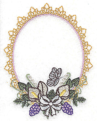 Embroidery Design: Wedding Blessings design small 2.96w X 3.88h