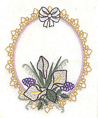 Embroidery Design: Love Wedding design small 3.13w X 3.86h