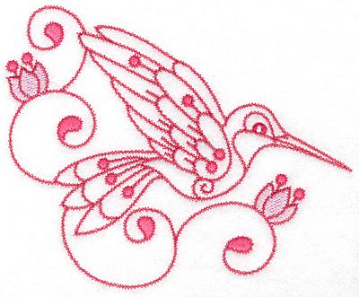 Embroidery Design: Hummingbird I extra large  7.02w X 5.68h