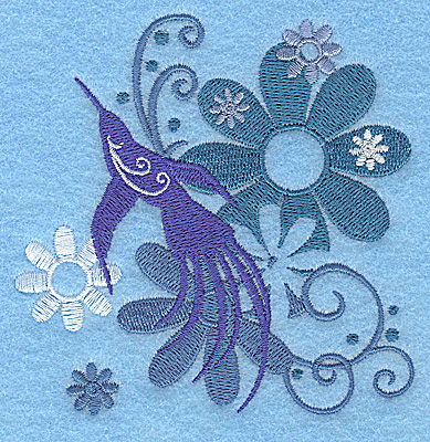 Embroidery Design: Wings of Fantasy D small 3.82w X 3.85h